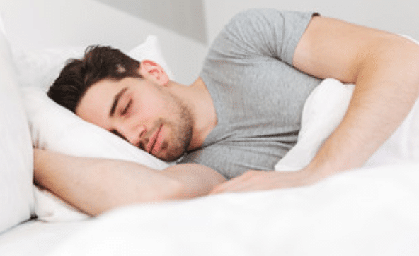 diminution de l'anxiété, couverture lestée