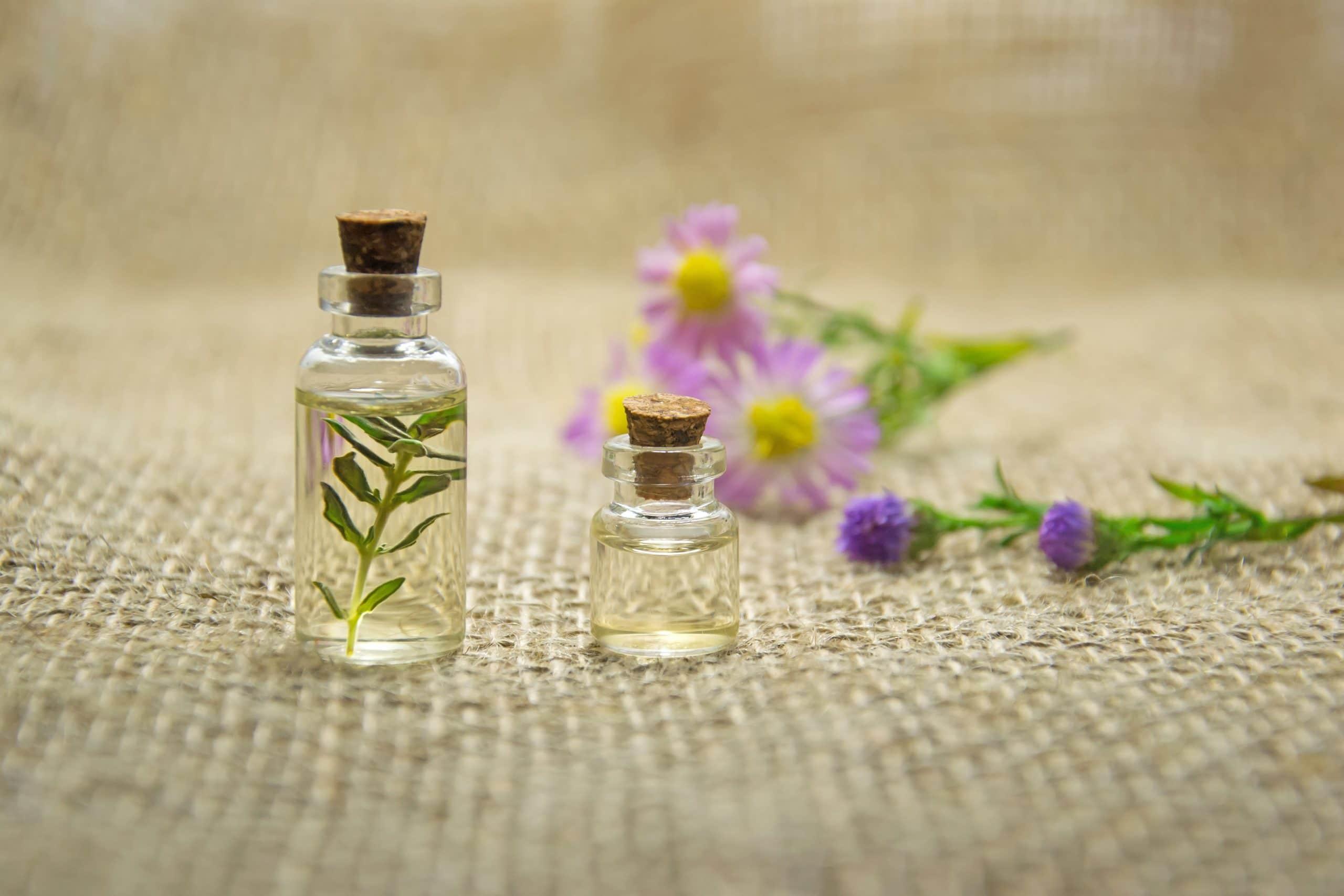aromathérapie pour mieux dormir, couverture lestée