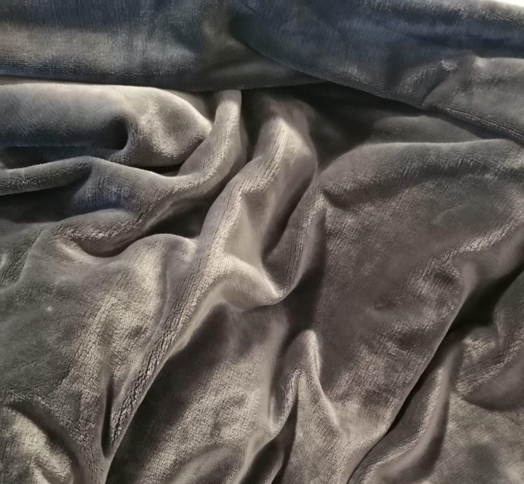 tissu pour couverture lestée