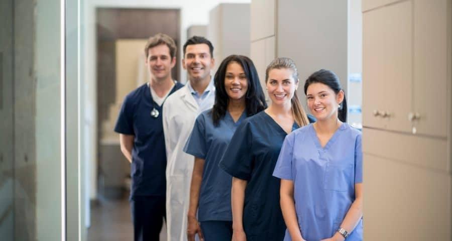 couverture lestée pour les professionnels de santé