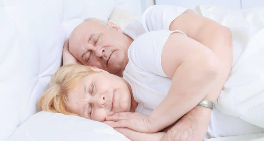 couverture lestée pour personne âgée