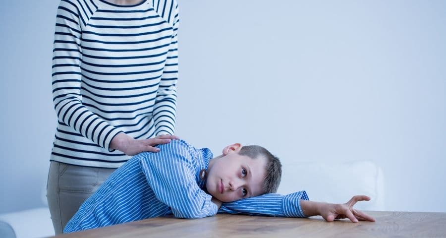 deep pressure touch, enfant autiste